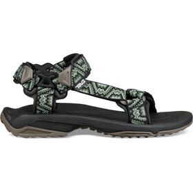 Teva Terra Fi Lite Sandals Herr nikos black-green